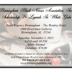 BIRMINGHAM BLACK NURSES ASSOCIATION LEGENDS IN WHITE GALA